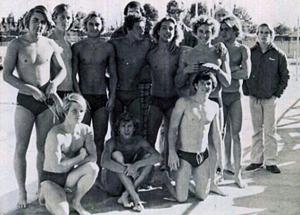 Buchser Varsity Water Polo 75-76'