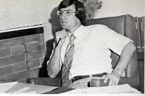 Dave Soper 77' (He was the Vice-Principal at EDHS)