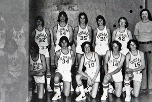 Frosh B-Ball 77'-Coach George Parker